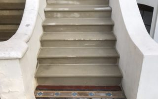 Removing exiting and installation of new steps